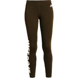 Nike Sportswear LEGASEE Leggings vert olive/blanc