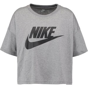 Nike Sportswear Tshirt imprimé carbon heather/black