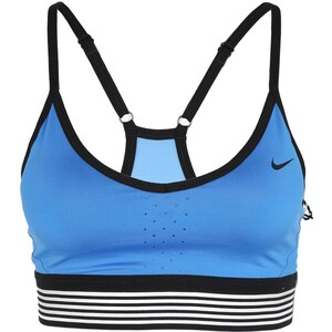 Nike Performance PRO INDY Soutiengorge de sport lite photo blue/black