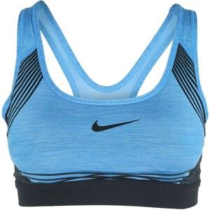 Nike Performance PRO HYPER Soutiengorge de sport lite photo blue/black