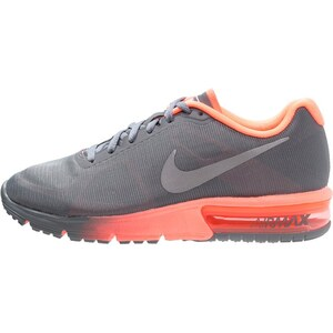 Nike Performance AIR MAX SEQUENT Chaussures de running neutres cool grey/metallic silver/bright mango
