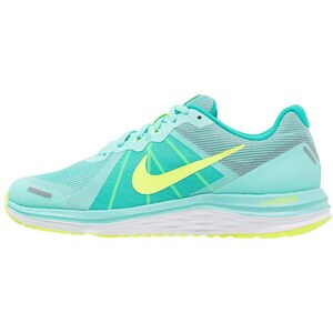 Nike Performance DUAL FUSION X 2 Chaussures de running neutres hyper turquoise/volt/clear jade/white/reflect silver