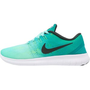 Nike Performance FREE RUN Chaussures de course neutres hyper turquoise/black/rio teal/volt/white