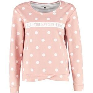 ONLY ONLNEW DOT Sweatshirt misty rose