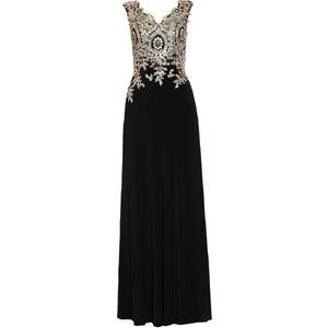 Luxuar Fashion Robe en jersey schwarz