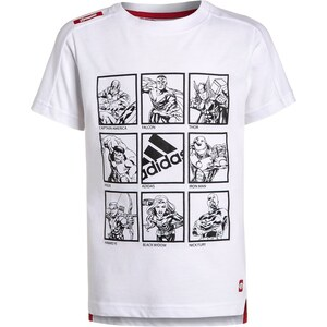 adidas Performance THE AVENGERS Tshirt imprimé white/scarlet