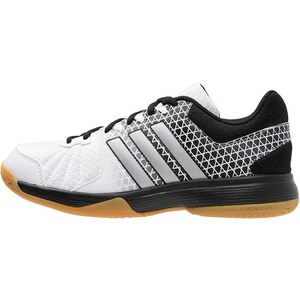 adidas Performance LIGRA 4 Chaussures de volley white/matte silver/core black