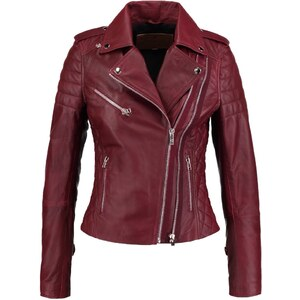 Goosecraft PERFECTO Veste en cuir burned red