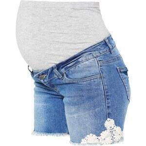 Mama Licious MLHONEY Short en jean medium blue denim