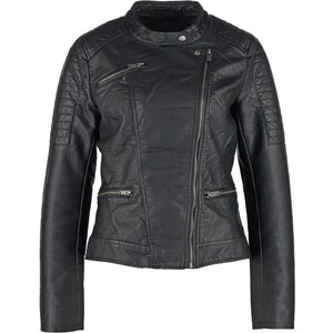 ONLY ONLNEW START Veste en similicuir black