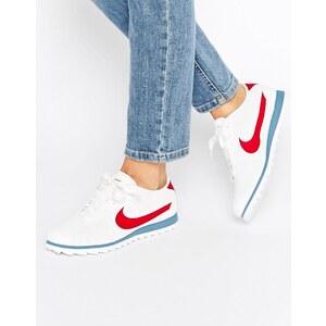 Nike - Cortez Ultra Moire - Baskets perforées - Rouge et bleu universitaire - Blanc