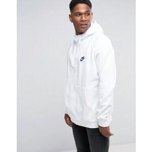 Nike - 809056-100 - Sweat à capuche et fermeture éclair - Blanc - Blanc