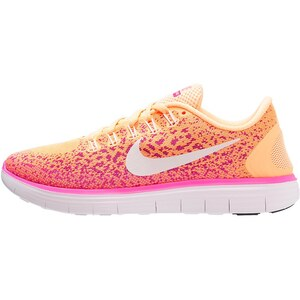 Nike Performance FREE RUN DISTANCE Chaussures de course neutres atomic orange/white/fresh pink/pink blast