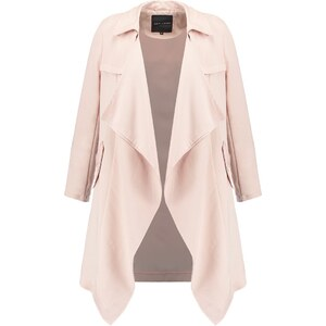 New Look Trench shell pink