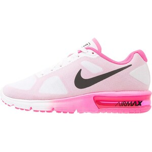 Nike Performance AIR MAX SEQUENT Chaussures de running neutres white/black/pink blast