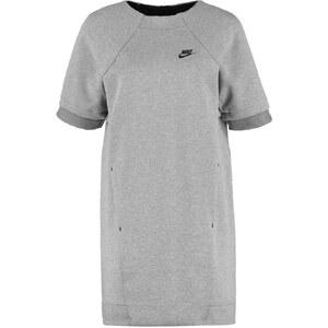 Nike Sportswear TECH FLEECE Robe en jersey carbon heather/dark grey/black
