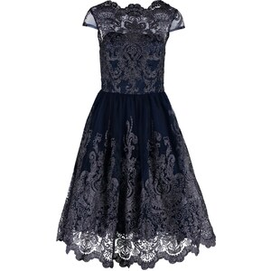 Chi Chi London Robe de cocktail navy/silver
