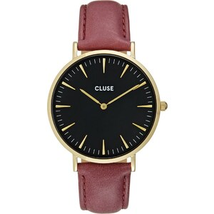 Cluse LA BOHÈME Montre goldcoloured/black/marsala