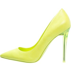 ALDO NIKA Escarpins à talons hauts light yellow