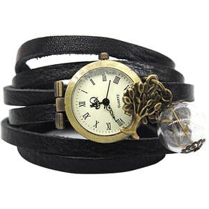 Lesara Wickel-Armbanduhr mit Pusteblumen-Anhänger
