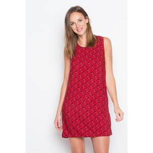 Robe effet 3D multicolore Rouge Polyester - Femme Taille 36 - Cache Cache