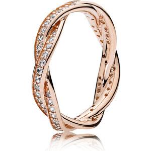 Pandora Kombinierbarer Ring Verbundene Treue Rose 180892CZ-48