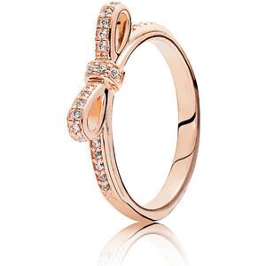 Pandora Kombinierbarer Ring Schleife Rose 180906CZ-48