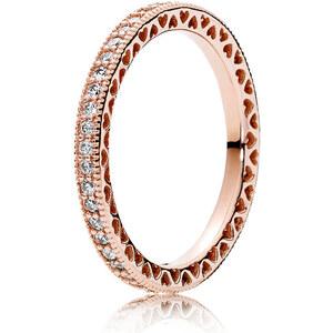 Pandora Kombinierbarer Ring Unendliche Herzen Rose 180963CZ-48