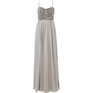 Young Couture Abendkleid mit Ziersteinbesatz