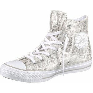Converse Sneaker Chuck Taylor All Star Sting Ray Leather silberfarben 36,37,37,5,38,39,39,5,40,41,42