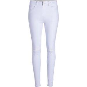 Skinny laser cut Blanc Coton - Femme Taille 34 - Cache Cache