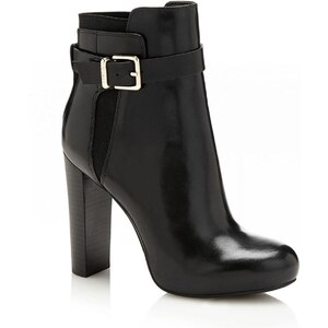 Guess Denisa - Bottines en cuir - noir