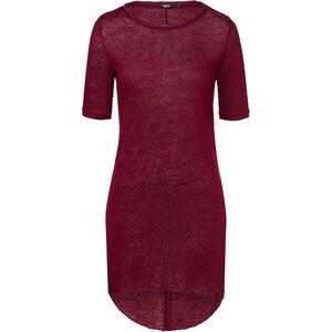 Tigha NELIA Leinen-Shirt in Rot