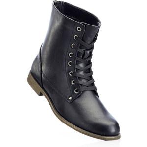 bpc bonprix collection Bottines noir avec 2 cm platchaussures & accessoires - bonprix