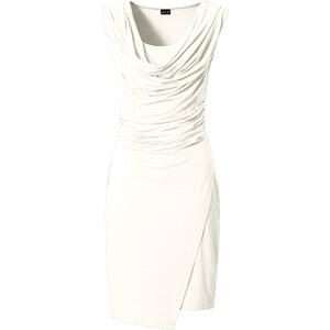 BODYFLIRT Shirtkleid in weiß von bonprix