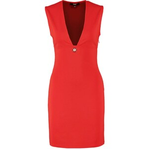 Versus Versace Robe fourreau rosso