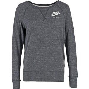 Nike Sportswear GYM VINTAGE Sweatshirt gris anthracite/blanc