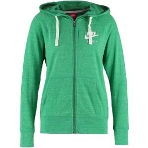 Nike Sportswear GYM VINTAGE Sweat zippé green