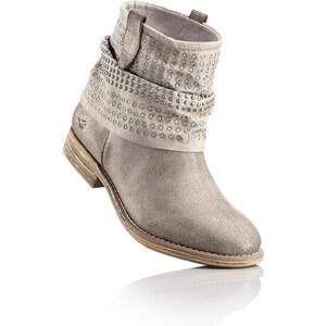 Mustang Shoes Stiefelette in silber von bonprix