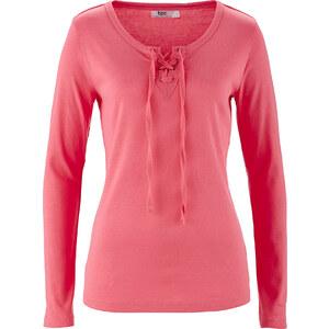 bpc bonprix collection Shirt, Langarm in pink für Damen von bonprix