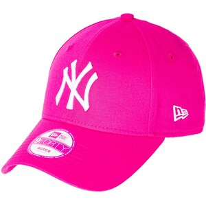 New Era Casquette yankees pink/optic white