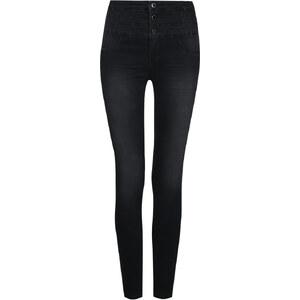 Tally Weijl Dunkelgraue Skinny-Jeans