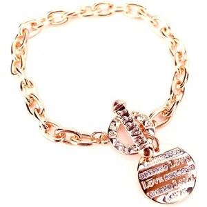 Bracelet Corail LOVE Message - Cendriyon