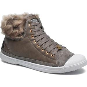 Le temps des cerises - Basic 03 Fur - Sneaker für Damen / grau