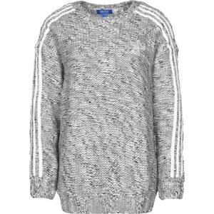 adidas 3 Stripes W pull en laine black/white