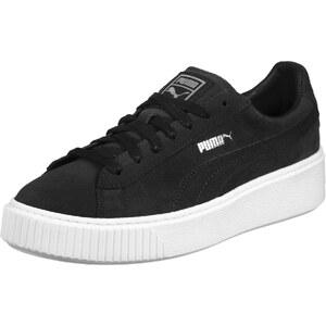 Puma Suede Platform W chaussures black/white