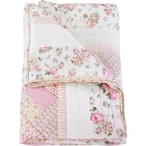 bpc living Tagesdecke/Kissenhülle Lara in rosa von bonprix