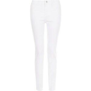 New Look Authentische weiße Skinny-Jeans