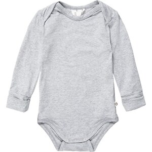 Müsli by GREEN COTTON Body pale grey marl