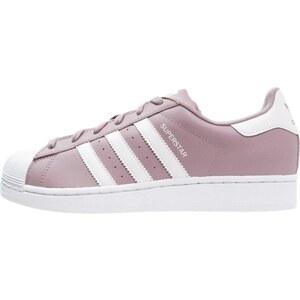 adidas Originals SUPERSTAR Baskets basses blanch purple/white